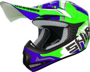 Shiro MX-306 Kids Brigade II (130158) Blue-Green Fluo 54-YL