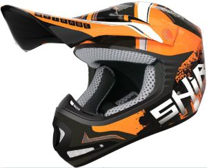 Shiro MX-306 Kids Brigade II (130157) Black-Orange Fluo 54-YL