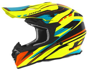 Jopa Helmet HUNTER Revolt Fluo Yellow-Orange 62-XL