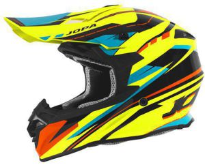 Jopa Helmet HUNTER Revolt Fluo Yellow-Orange 54-XS
