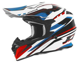 Jopa Helmet HUNTER Revolt Red-Blue 60-L