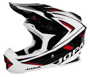 Jopa BMX-Helmet Flash Black-White-Red 57-58 M