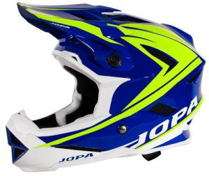 Jopa BMX-Helmet Flash Blue-Yellow Fluo 59-60 L
