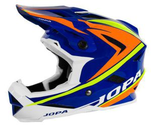 Jopa BMX-Helmet Flash Blue-Orange-Yellow Fluo 59-60 L