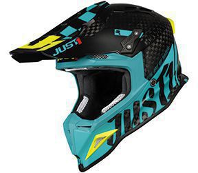 JUST1 Helmet J12 PRO Racer Blue-Carbon 64-XXL