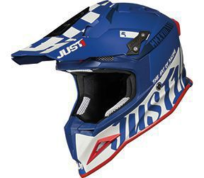 JUST1 Helmet J12 PRO Racer White-Blue 58-M