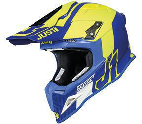 JUST1 Helmet J12 PRO Syncro Fluo Yellow-Blue 54-XS