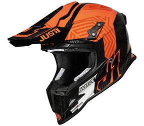 JUST1 Helmet J12 PRO Syncro Fluo Orange-Carbon 54-XS