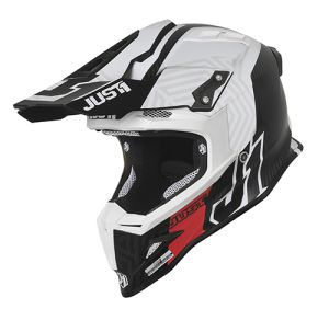 JUST1 Helmet J12 PRO Syncro Carbon White 54-XS