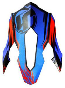 JUST1 J12 Peak Dominator Blue-Red