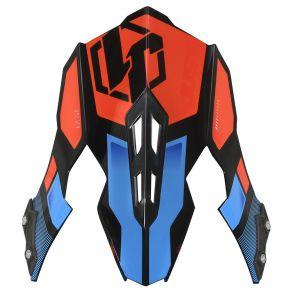 JUST1 J12 Peak Vector Orange-Blue Carbon