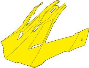 JUST1 J12 Peak Racer Fluo Yellow-Carbon