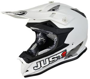JUST1 Helmet J32 PRO Solid White 54-XS