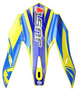 JUST1 J32 Peak Pro Rave Blue-Yellow
