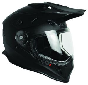 JUST1 Helmet J34 Adventure Solid Matt Black 54-XS