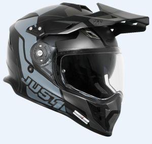 JUST1 Helmet J34 Tour Titanium-Black 60-L