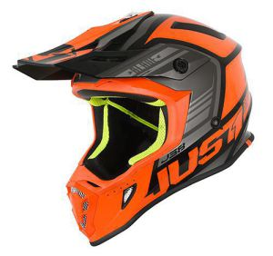 JUST1 Helmet J38 Blade Orange-Black 54-XS