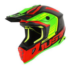JUST1 Helmet J38 Blade Red-Lime-Black 54-XS