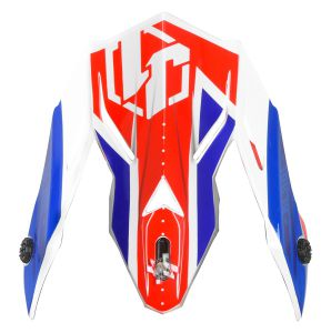 JUST1 Spare Parts J38 Peak Blade Blue-Red-White