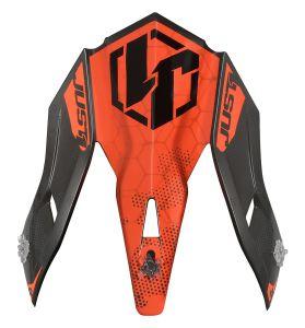 JUST1 Spare Parts J38 Peak Blade Orange-Black