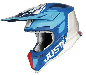 JUST1 Helmet J18 Pulsar Blue-Red-White 54-XS