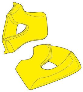 JUST1 J39 Cheek Pads (couple) - M