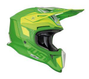 JUST1 Helmet J18 MIPS Pulsar Fluo Lime Green 60-L