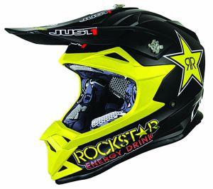 JUST1 Helmet J32 PRO KIDS Rockstar 2.0 48-YS