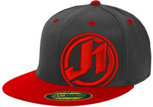 JUST1 Cap J1 Impact Black-Red L-XXL