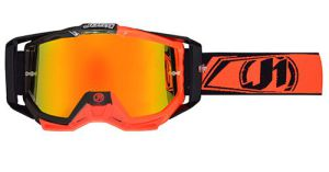 JUST1 Goggle Iris Carbon Fluo Red