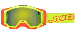 JUST1 Goggle Iris Neon Yellow