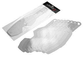 JUST1 Tear Off pack for Roll Off goggles Iris (8 sheet)