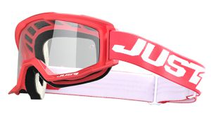 JUST1 Goggle Vitro Red-White