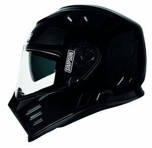 Simpson Helmet Venom Black Metal (MH) 54-XS