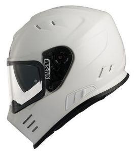 Simpson Helmet Venom White (MA) 54-XS