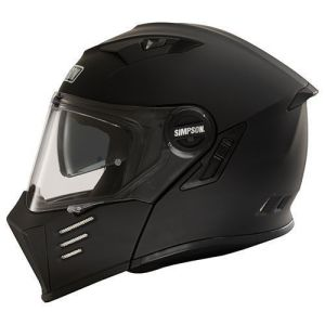 Simpson Helmet Darksome Matt Black 54-XS