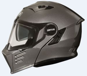 Simpson Helmet Darksome Gunmetal 60-L