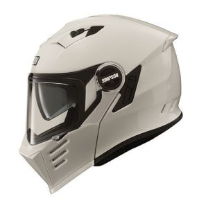 Simpson Helmet Darksome White 54-XS