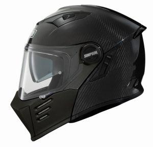 Simpson Helmet Darksome Carbon-Matt Black 60-L