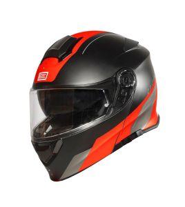 Origine Helmets Delta basic Division Fluo Red-Black matt (60-L)