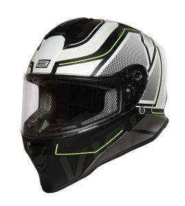 Origine Helmets Dinamo Galaxi White-Black Matt (60-L)