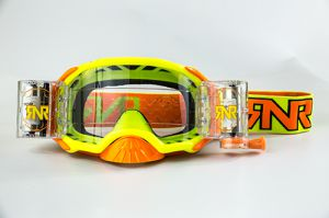 Rip 'n Roll Goggle Platinum WVS (48mm Roll Off) Yellow Fluo