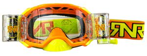 Rip 'n Roll Goggle Platinum WVS (48mm Roll Off) Orange Fluo