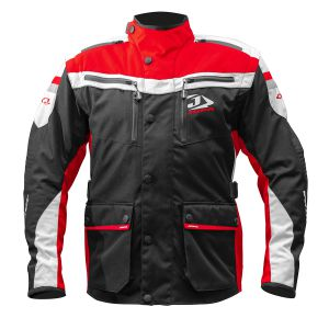 Jopa Enduro Jacket Iron Black-Red M