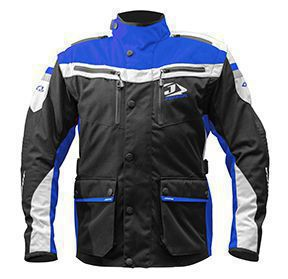 Jopa Enduro Jacket Iron Black-Blue 3XL