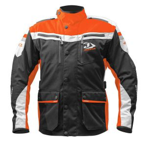 Jopa Enduro Jacket Iron Black-Orange M