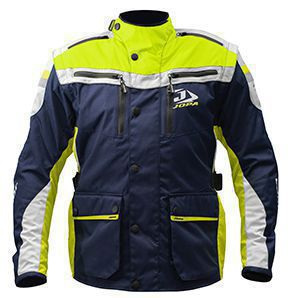 Jopa Enduro Jacket Iron Yellow Fluor-Blue 3XL