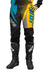 Jopa MX-Pants 2019 Elusion Aqua-Dark Yellow 44