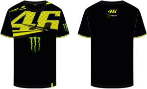 VR46 T-shirt (MOMTS316204) Monster Monza Black 3XL