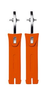 Sidi Strap for Stone Buckle (30) Short Orange Fluo